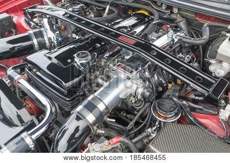 Toyota Supra Engine 1994 On Display