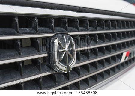 Toyota Cressida 1991 Emblem On Display