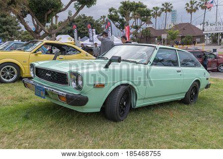 Toyota Corolla 1979 On Display