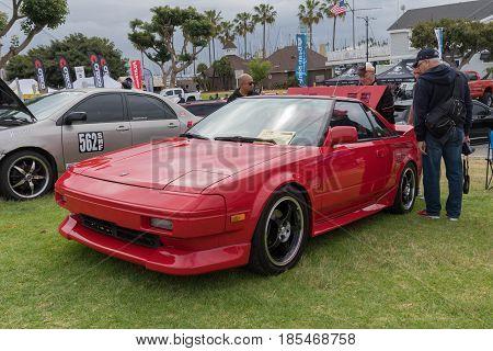 Toyota Mr2 1985 On Display