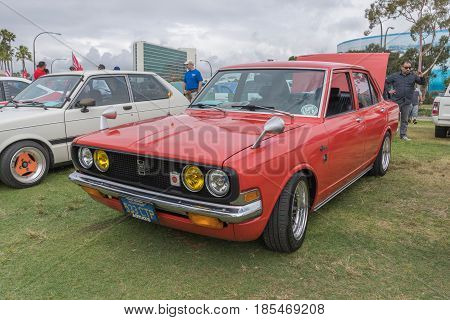 Toyota Corona 1971 On Display