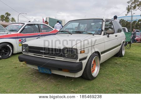 Toyota Starlet 1982 On Display