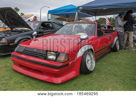Toyota Celica 1985 On Display