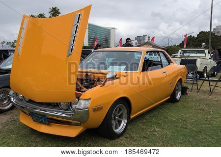 Toyota Celica 1972 On Display