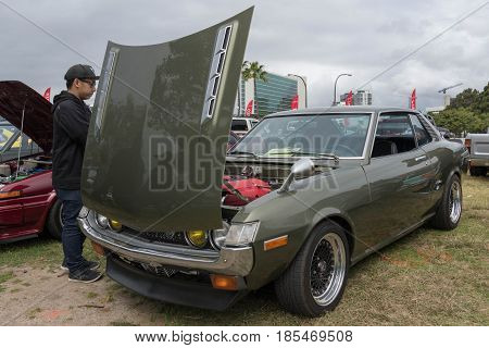 Toyota Celica 1973 On Display