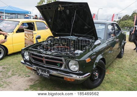 Toyota Corolla 1972 On Display