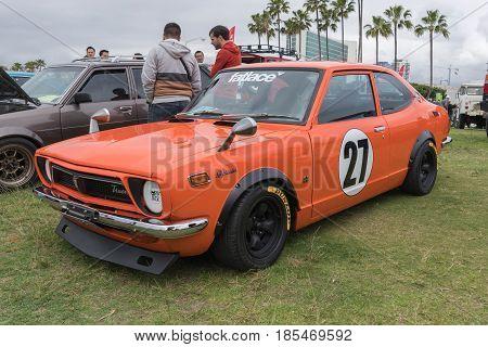 Toyota Corolla 1973 On Display