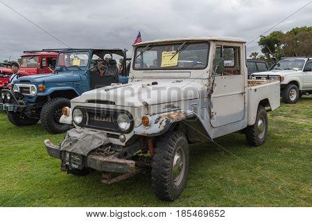 Toyota Land Cruiser 1965 On Display