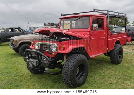 Toyota Land Cruiser 1967 On Display