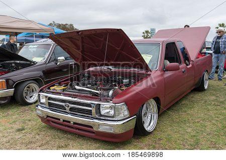 Toyota Hilux 1989 On Display