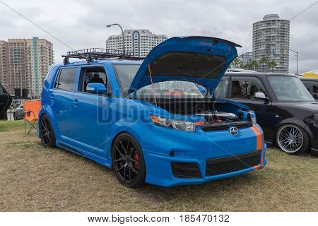 Scion Xb  2011 On Display