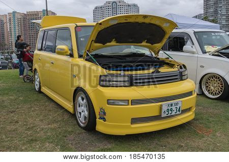 Scion Xb  2005 On Display