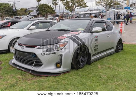 Scion Tc 2015 On Display