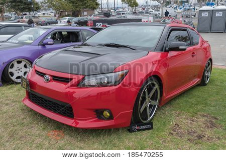 Scion Tc 2013 On Display