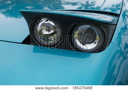 Toyota Mr2 1993 Sw20 Headlight On Display