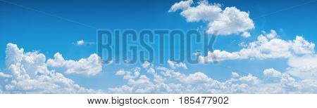 The vast blue sky and clouds sky. blue sky background with tiny clouds. blue sky photo. blue sky beautiful. blue sky and cloud wallpaper. blue sky and cloud nature. clear sky and white cloud. sky panorama