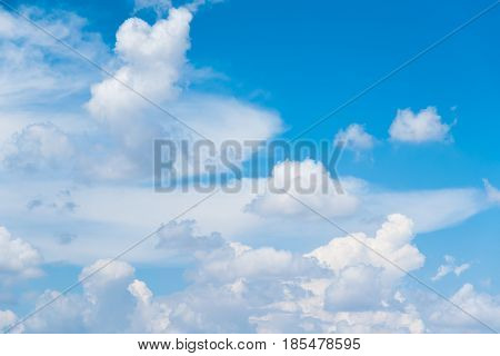 The vast blue sky and clouds sky. blue sky background with tiny clouds. blue sky photo. blue sky beautiful. blue sky and cloud wallpaper. blue sky and cloud nature.