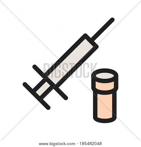 Medical, community, vaccination icon vector image. Can also be used for community. Suitable for mobile apps, web apps and print media.