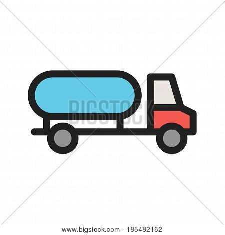 Water, truck, community icon vector image. Can also be used for community. Suitable for mobile apps, web apps and print media.