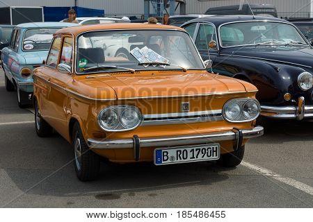 Berlin - May 11: Car Nsu Tt, 26Th Oldtimer-tage Berlin-brandenburg, May 11, 2013 Berlin, Germany