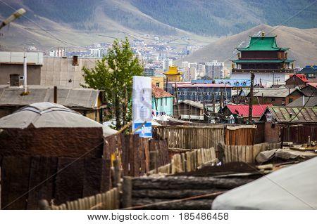Ulaanbaatar Mongolia Slums