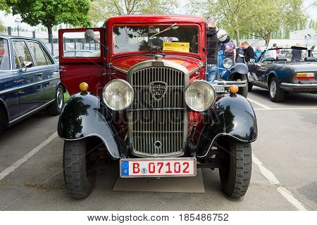 Berlin - May 11: Car Peugeot 301C, 26Th Oldtimer-tage Berlin-brandenburg, May 11, 2013 Berlin, Germa