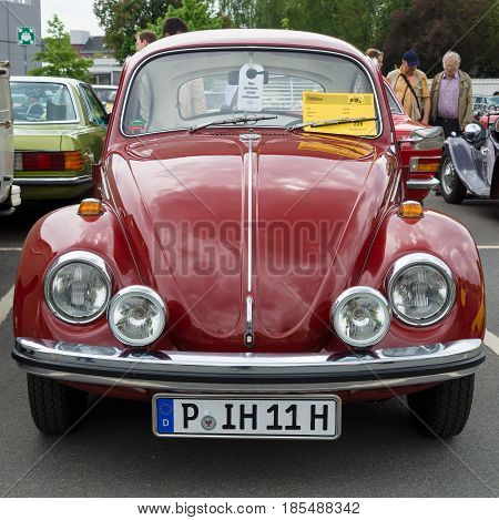BERLIN - MAY 11: Car Volkswagen Beetle 26th Oldtimer-Tage Berlin-Brandenburg May 11 2013 Berlin Germany