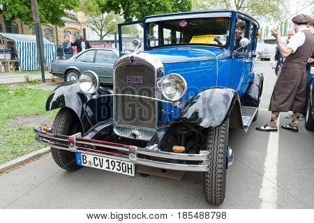 Berlin - May 11: Citroen Six (c6) Limousine, 26. Oldtimer-tage Berlin-brandenburg, May 11, 2013 Berl