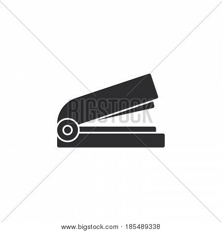 Stapler Icon Vector, Solid Logo Illustration, Pictogram Isolated On White