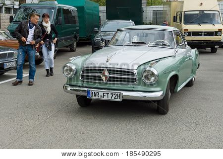 Berlin - May 11: A Medium-sized, Two-door Sedan, Borgward Isabella, 26Th Oldtimer-tage Berlin-brande