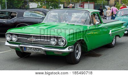 Berlin - May 11: Car Chevrolet El Camino (coupe Utility), 26Th Oldtimer-tage Berlin-brandenburg, May