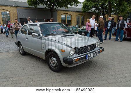 Berlin - May 11: The Subcompact Car Honda Civic, 26Th Oldtimer-tage Berlin-brandenburg, May 11, 2013