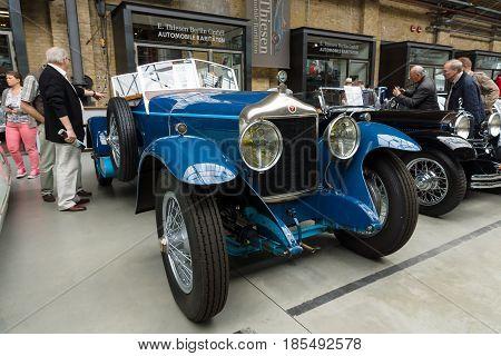 Berlin - May 11: The Belgian Luxury Vehicle 30S Minerva Type Ab Torpedo 1925, 26Th Oldtimer-tage Ber