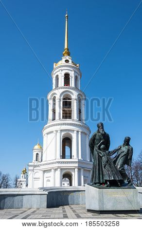 A Monument To The New Martyrs Of Russia In Shuya, Ivanovo Oblast, Russia.