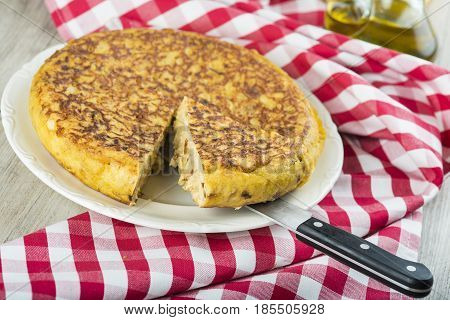 Spanish Potatoes Omelette