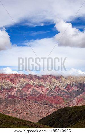 Serranias Del Hornocal, Colored Mountains, Argentina