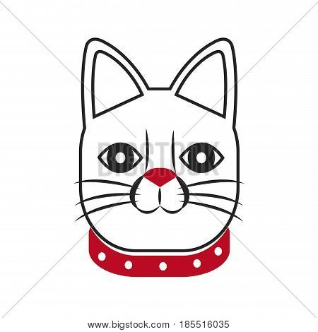 japanese lucky cat symbolic talisman toy tradition vector illustration