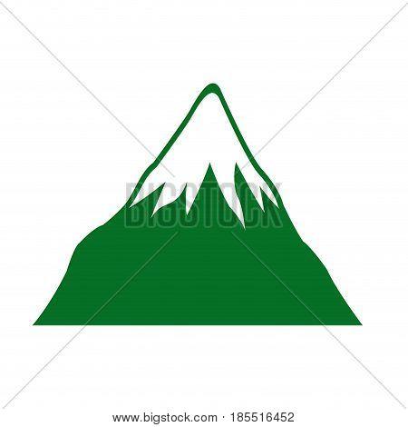 mount fuji japan landscape natural image vector illustration