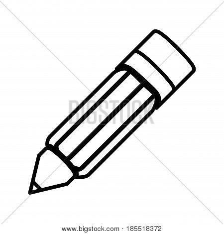 pencil art japanese antique writing culture line vector illustration