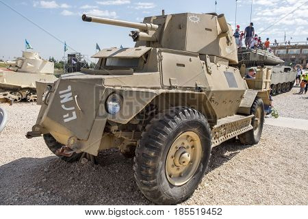 Marmon-herrington Armoured Car Mk Ivf At Latrun Armored Corps Museum