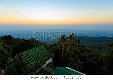Panorama Of Thai Chiang Mai