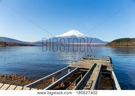 Mount Fuji and Lake Yamanaka