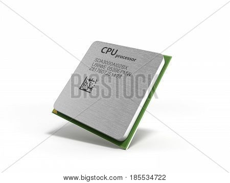 Central Computer Processors Cpu High Resolution 3D Render
