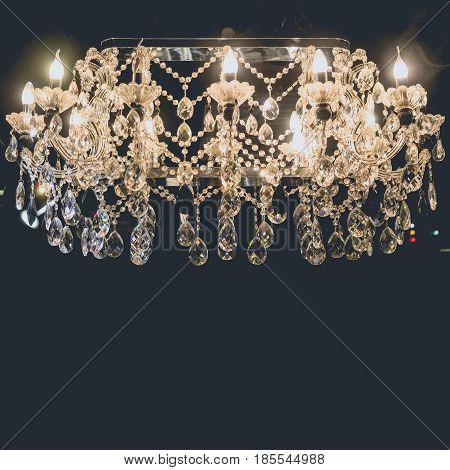 Chandelier Lighting Luxury elegant style Interior decoration