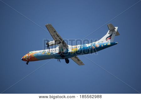 Hs-pgb Atr 72-500 Of Bangkok Airway