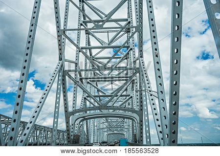 steel engineered highway and a bridge structure