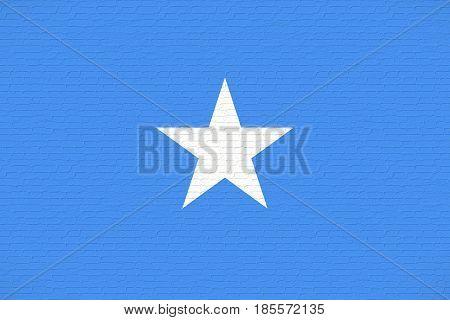 Flag Of Somalia Wall.