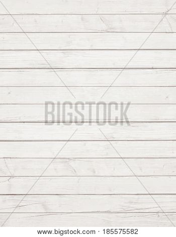 White wooden wall, table, floor surface. Light vector wood texture
