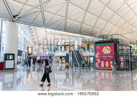 Hong Kong international airport, Hong Kong, September 2016 -:Hong Kong airport