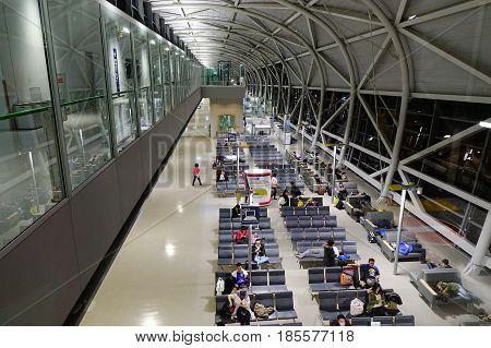 Kansai International Airport In Osaka, Japan